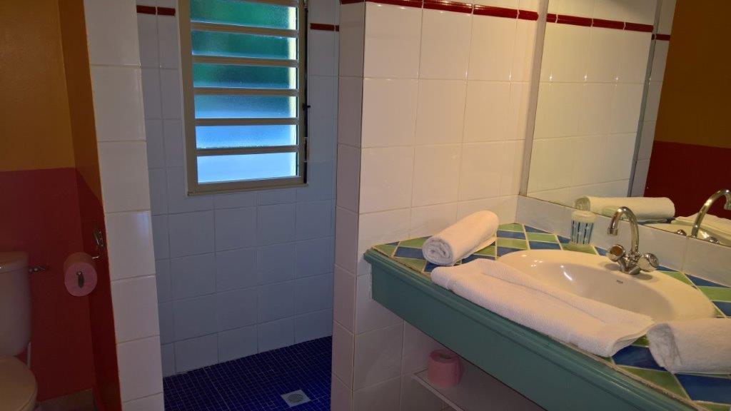 Habitation morne capado a deshaies en guadeloupe for Mr propre salle de bain